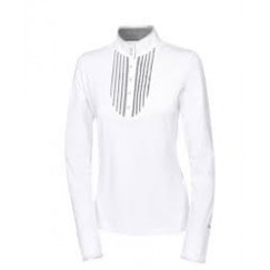 Pikeur Lya Long Sleeved Competition Shirt, White