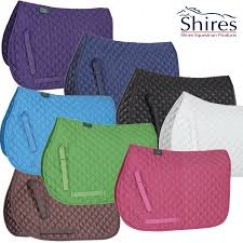 **LAST ONE **Shires Quilted Saddle Cloth Purple Only