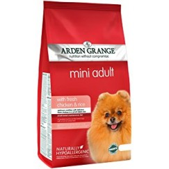 Arden Grange MINI Adult Dog Food with Fresh Chicken & Rice 2kg/6kg