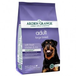 Arden Grange LARGE BREED Adult Dog Food with Fresh Chicken & Rice 2kg/12kg