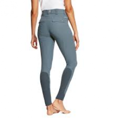 Ariat Tri Factor Full Seat Grip Breeches - Weathered Slate