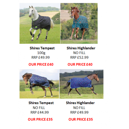 Shires LW Rugs