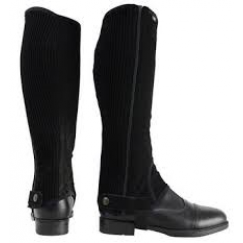 HyLAND Synthetic Nubuck Chaps Black