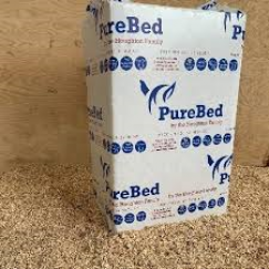 Purebed Wood Fibre Bedding (20kg) £6.99 each or DEAL £19.00 for 3 BALES