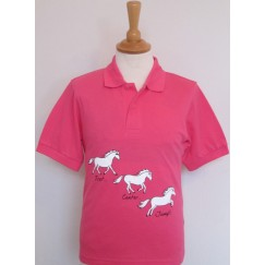 British Country Collection Trot Canter Jump Polo Shirt