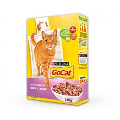 Purina GoCat Adult with Chicken, Duck and Rabbit 2kg