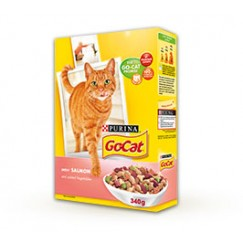 Purina GoCat Adult with Salmon and added Vegetables 2kg