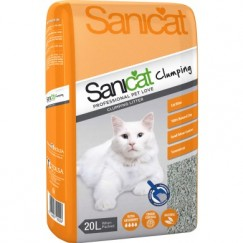 Sanicat Clumping Cat Litter 20L