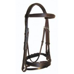 Ascot Comfort Padded Flash Bridle
