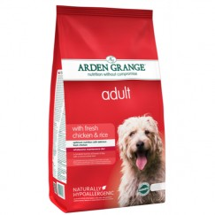Arden Grange Adult Dog Food with Fresh Chicken & Rice 2kg/12kg