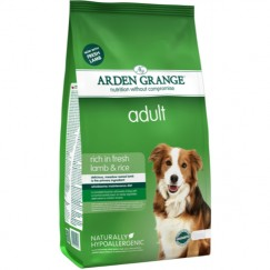 Arden Grange Adult Dog Food with Lamb & Rice 2kg/12kg