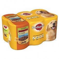 Pedigree Can in Jelly 6 x 385g