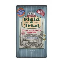 Skinner's Field & Trial Turkey & Rice 15kg