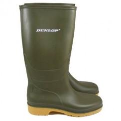Dunlop Children's Junior Green Wellingtons