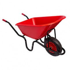 Wheelbarrow 90L Puncture Proof Wheel