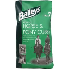 Baileys No. 2 Working Horse and Pony Cubes