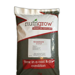 7-7-7 Nutrigrow Growmore Fertiliser 25kg