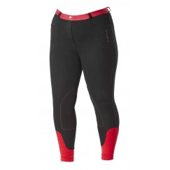 Firefoot Farsley Ladies  Breeches Black/Red