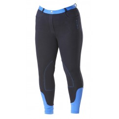 Firefoot Farsley Ladies Fleece Lined Breeches Navy/Impact