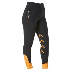 Firefoot Ripon  Ladies Stretch Breeches Black/Orange