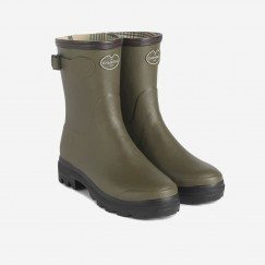 Le Chameau Ladies Giverny Bottillon Mid Height Boot - Colour Vert