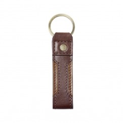 Le Chameau Leather Keyring