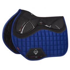 LeMieux X Grip Euro Jump Saddle Square Benetton Blue