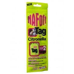 NAF Citronella Tag Twin Pack