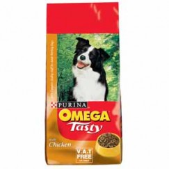 Purina Omega Tasty Dog Food Chicken 15kg