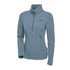 The Pikeur Livie Ladies Polartec Shirt. (LIGHT bLUE)