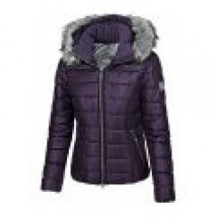 Pikeur Amal Quilted Jacket - GRAPE