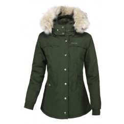 Pikeur Ladies Dea Short Parka Jacket Pine Green