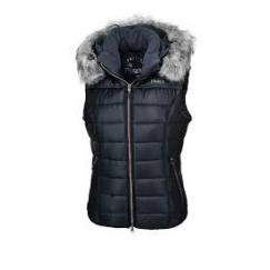 ** LAST ONE EU 42/UK14 **Pikeur Ladies Amica Quilted Waistcoat / Gilet Navy