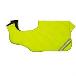 Shires Fleece Lined Hi Viz  Fluorescent Exercise Sheet