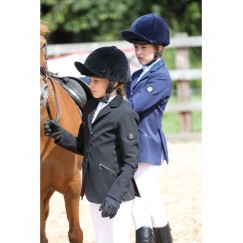 SHIRES AUBRION OXFORD MAIDS /CHILD SHOW JACKET - NAVY