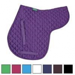 **Special Offer **Shires Quilted Numnah Purple Only
