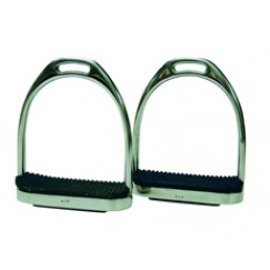 ProTack Fillis Stirrups with Black Treads