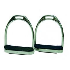 ProTack Fillis Stirrups with Black Treads