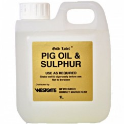 Gold Label Pig Oil and Sulphur 1L