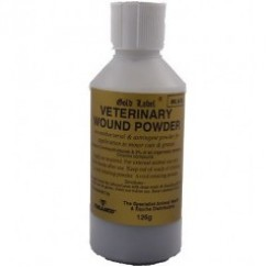 Gold Label Veterinary Wound Powder 125g