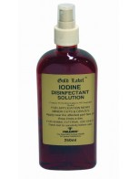 Gold Label Iodine Disinfectant Solution 250ml