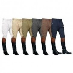Mark Todd Mens Auckland Pleated Breeches (Sock bottom)