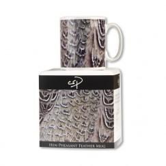 Hen Pheasant Feather Mug