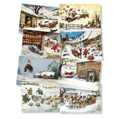 PACK of Thelwell Christmas Cards